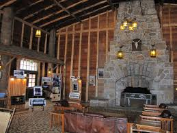 panoramio photo of old faithful lodge sitting room fireplace