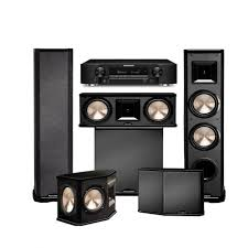 home theater systems amazon com amazon com marantz nr1606 with bic acoustech pl 89ii theater