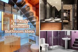 Basement Bathroom Ideas Pictures 33 Trendy Basement Bathroom Ideas Homeoholic