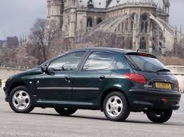 peugeot 206 peugeot 206 5 doors specs 1998 1999 2000 2001 2002
