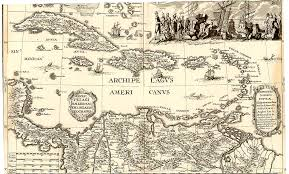 Map Caribbean by Caribbean Maps Of The Sixteenth And Seventeenth Centuries