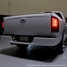 dodge ram led tail lights 02 06 dodge ram 1500 2500 3500 chrome housing led tail lights
