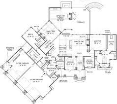mountain home plans with walkout basement mountain house plans with view loft home walkoutment modern rear