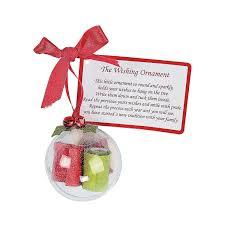 wishing ornament christmas craft kit craft kits ornament and craft