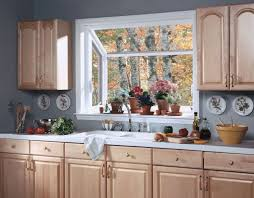 amazing kitchen bay window treatments 16937