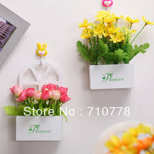 artificial flower set with vase table wall home decoration flower