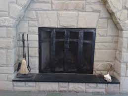 Contemporary Fireplace Doors by Amazing Forged Fireplace Doors Images Home Design Contemporary At