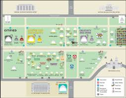 Las Americas Outlet Map by Smithsonian Folklife Festival