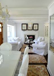 Chic Living Room by Shabby Chic Beach Cottage Tour Exquisitely Unremarkable