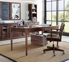 Writing Desk With Chair Printer U0027s Writing Desk Large Pottery Barn