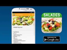 application android cuisine recettes salades application android