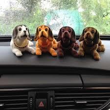 780 dogs 4pcs lot doll car interior ornaments accessories