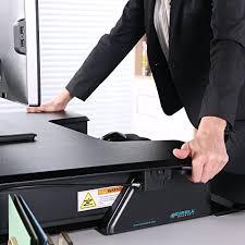 eureka ergonomic height adjustable standing desk monitor arms stands eureka ergonomic height adjustable monitor arms