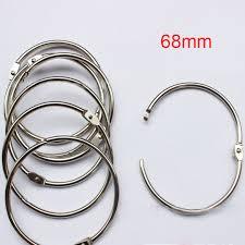 metal binder rings images 10x metal hinged ring book binder craft photo album split jpg