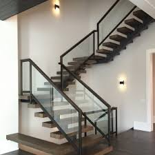 Modern Stair Banister Astonishing Modern Stair Handrail 57 With Additional Hme Designing