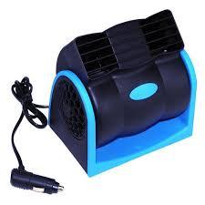 plug in car fan 12v mini portable car air conditioner cigarette lighter plug vehicle