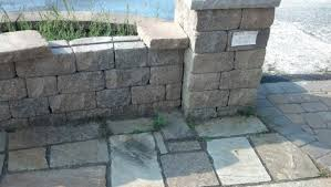 unsure of small retaining wall materials concrete stone