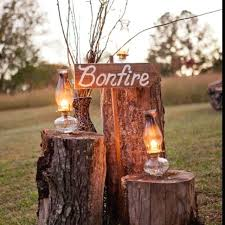 Backyard Country Wedding Triyae Com U003d Backyard Bonfire Wedding Various Design Inspiration