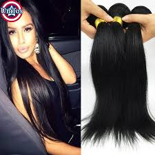 the best sew in human hair brazilian straight human hair sew in weave jet black virgin