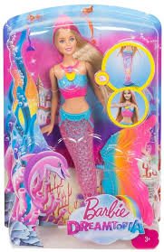 dolls that light up barbie mermaid doll light up fashion water light activated brand new