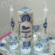 bougie hennã mariage bougies et photophores décorées au henné ou à la peinture