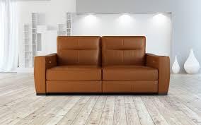 meuble femina salon canapé relaxation 3 places en cuir de buffle anais certifié nf