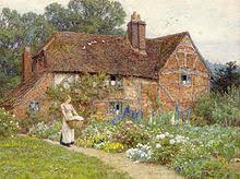 English Cottage Gardens Photos - cottage garden wikipedia