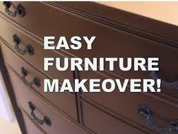 How To Repaint Wood Furniture by Refinish Furniture Without Sanding Rust Oleum Cabinet