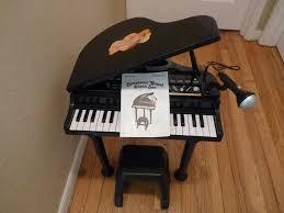 How Tall Is A Piano Bench Children U0027s Winfun Little Virtuoso Dance Hall Symphonic Grand Piano