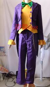 Halloween Costume The Joker Online Get Cheap Arkham Joker Costume Aliexpress Com Alibaba Group