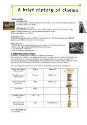 english teaching worksheets cinema