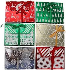 christmas gift card tins gift card tin holder set of six home kitchen