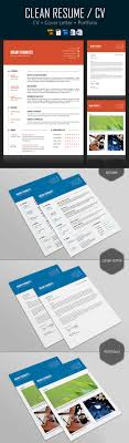cv letter 25 creative resume templates to land a new in style