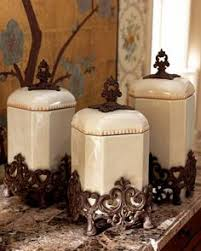 fleur de lis kitchen canisters pfaltzgraff sunbury grove set of 4 covered canisters mint