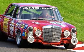 mercedes amg 300 sel 6 8 red pig rote sau 1969 amg commercial