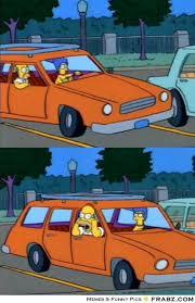 Simpsons Meme Generator - simpson car meme generator