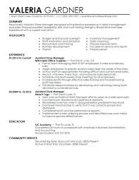 Retail Sales Assistant Resume Sample Retail Sample Resume Sales Assistant Example Shop Store Resume