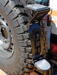 Baja Rack Fj Cruiser Ladder by Front Runner Rear Tire Step Toyota 70 Series Landcruiser Troopy