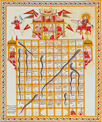snakes and ladders from india the game was invented in india by