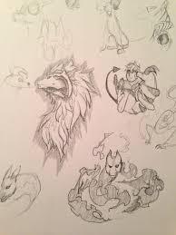dragon sketches u2014 weasyl