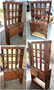 recycled wood recycled wooden pallets made hallway tree wood pallet furniture