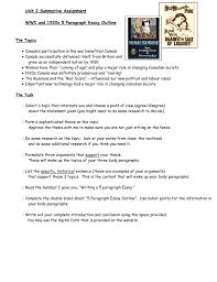 Five Paragraph Essay Outline Example 5 Paragraph Essay Format Handout