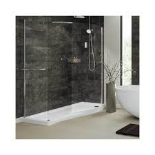 mira leap walk in shower enclosure 1400mm x 800mm left or right hand