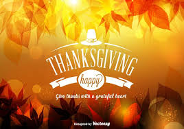 free vector happy thanksgiving background free vector