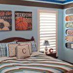 Beautiful Sports Decor For Kids Room Ideas Home Decorating Ideas - Kids sports room decor