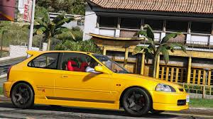 1998 honda civic modified honda civic type r ek9 gta5 mods com