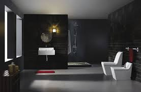 Black And White Modern Bathroom by Download Black Modern Bathroom Toilet Gen4congress Com