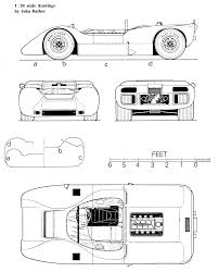 mclaren f1 drawing mclaren m6a blueprint racing car blueprint pinterest sports