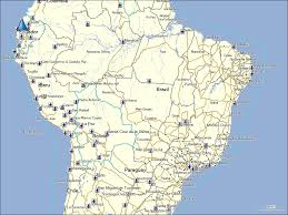 Map Of Brazil South America by Tramsoft Gmbh Garmin Mapsource South America English