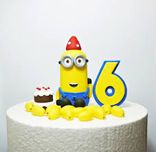 minions cake toppers fondant minions cake topper fondant minion birthday birt